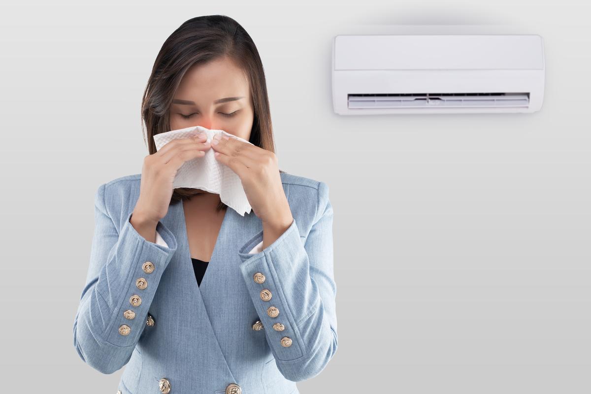 O ar condicionado pode causar alergias e doenças respiratórias?
