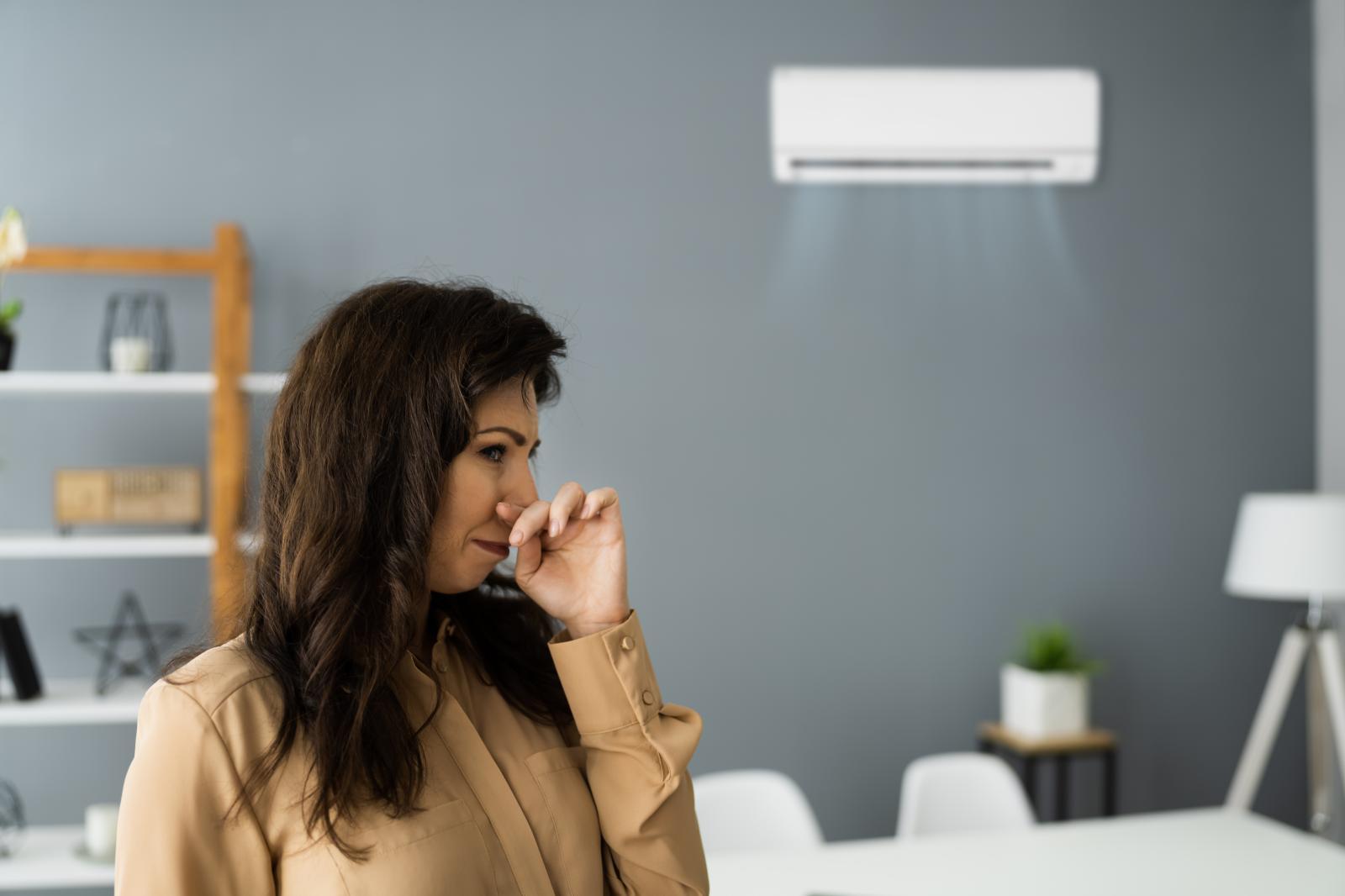 O que causa o mau cheiro no ar condicionado Split?